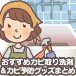 おすすめカビ取り洗剤&カビ予防グッズまとめ